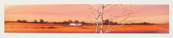Ged Mitchell LANDSCAPE II Hand Signed Limited Edition Giclee