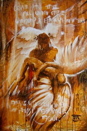 """NOAH """"COME TO ME"""" Hand Signed Large Limited Edition Giclee on Canvas"""