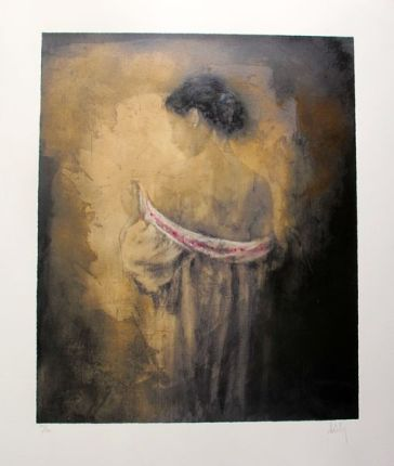 Domenech SHYNESS Hand Signed Limited Edition Giclee