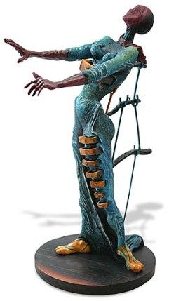 Salvador Dali BURNING GIRAFFE (WOMAN WITH DRAWERS) Sculpture