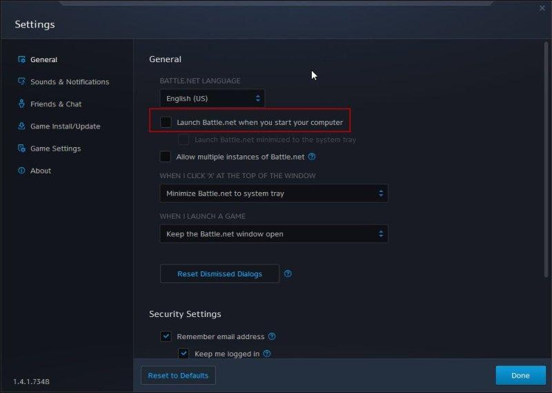 Cara mematikan clients game saat starting Windows