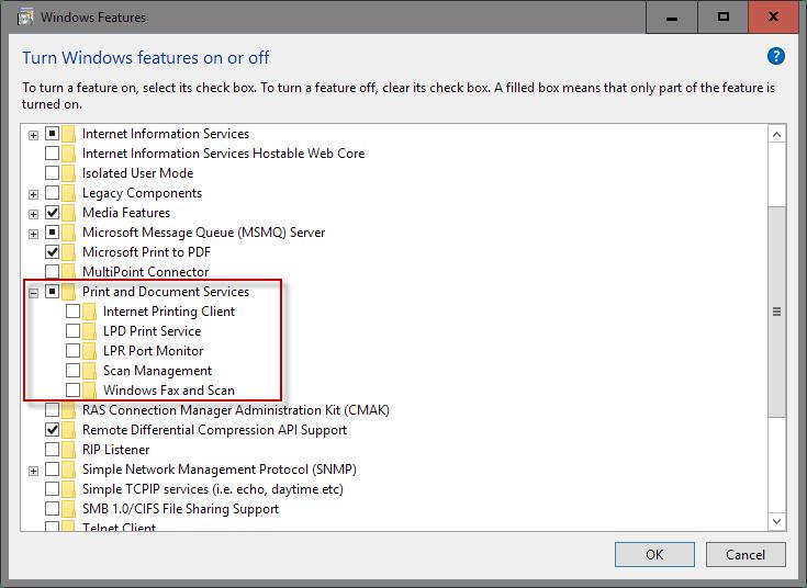 Cara mematikan Fitur Windows 10