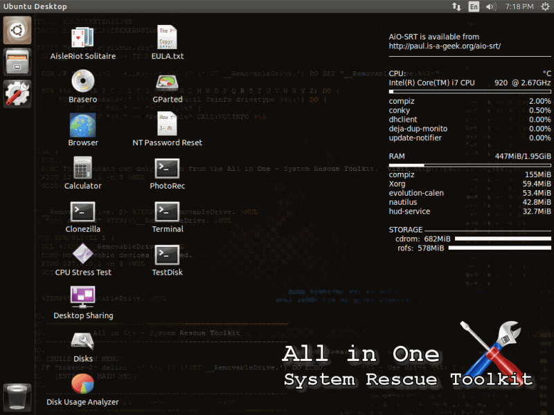 Review Sofware All In One System Rescue Toolkit