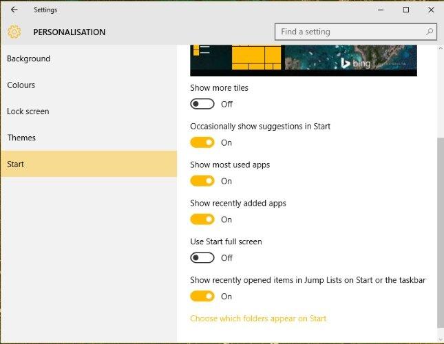 5 Tips tambahan untuk menggunakan Windows 10 Agar Start Menu Lebih Efisien