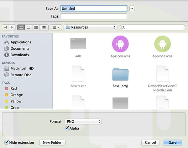Cara Ekstrak Icon dari Aplikasi pada Mac