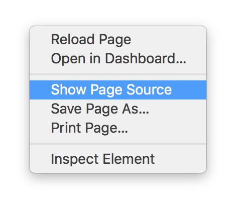 Cara Lihat Source Code Webpage di Safari pada Mac