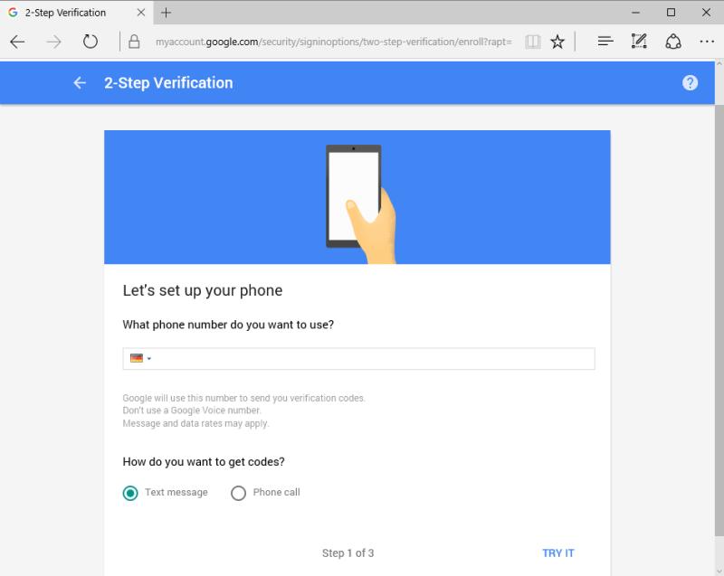 Cara mendapatkan prompt Google di ponsel Anda untuk sign in