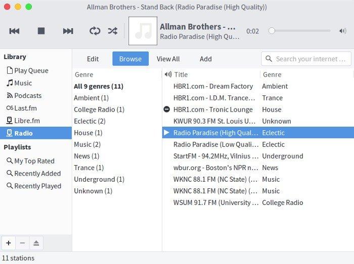 4 Aplikasi untuk Dengarkan Stasiun Radio Internet di Linux