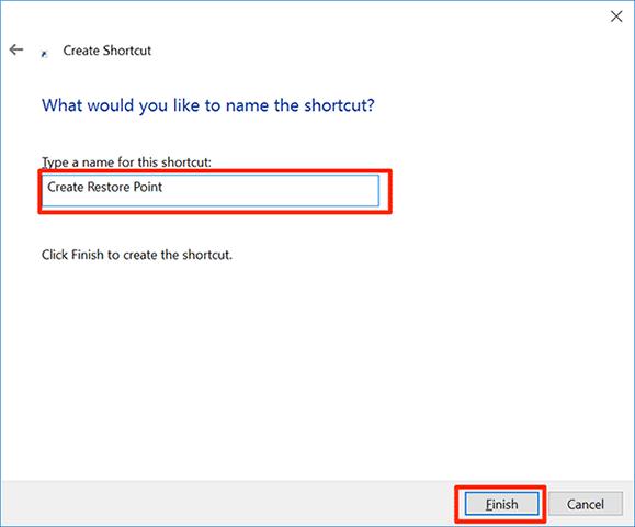 Cara Membuat Restore Point dengan dua Klik di Windows 10