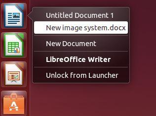 Cara Tambahkan Recent Files Quicklists di Ubuntu Unity Launcher