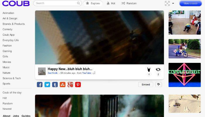 5 Vine Alternatif Terbaik untuk Berbagi Video 2016