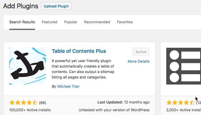 Cara Menambahkan Floating Table of Contents ke Posting WordPress