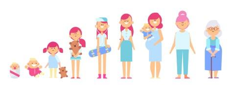 난소나이 그리고 여성의 삶의 사이클