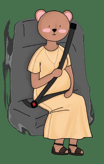 산모 벨트하는 법, 임신 중 벨트 착용법