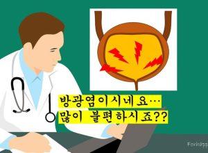 방광염 – 소변이 찌릿찌릿, 여성의 급성 방광염