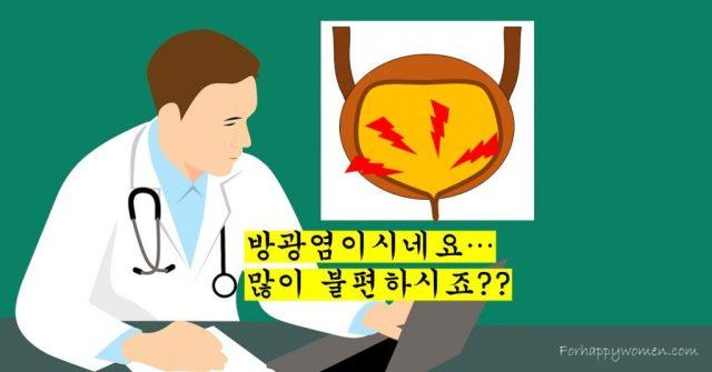 방광염 – 소변이 찌릿찌릿, 여성의 급성 방광염3 min read