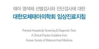 태아 염색체 검사 임상진료지침