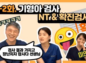 목덜미투명대(NT) & 확진검사(융모막생검,양수검사) '다운증후군'을 발견해보자!