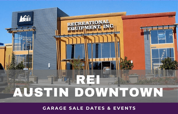 REI Austin Downtown Garage Sale Dates, rei garage sale austin downtown