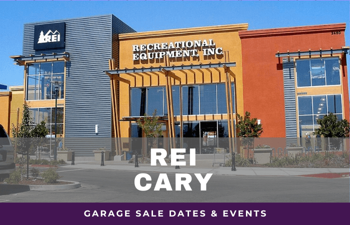REI Cary Garage Sale Dates, rei garage sale cary north carolina