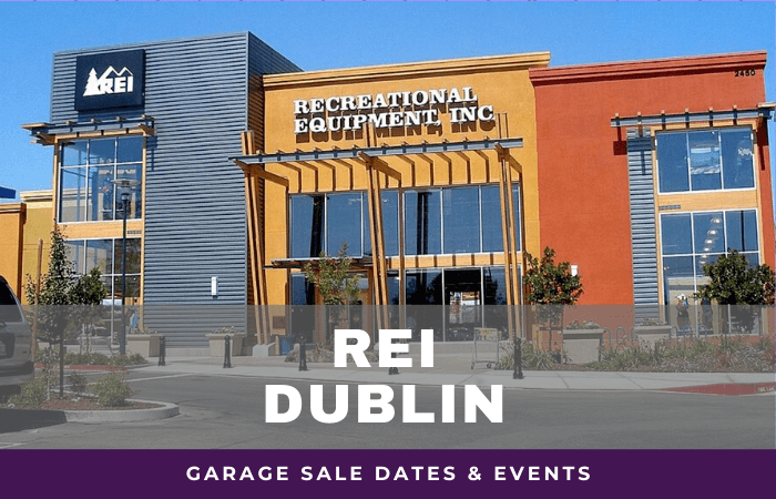 REI Dublin Garage Sale Dates, rei garage sale dublin california