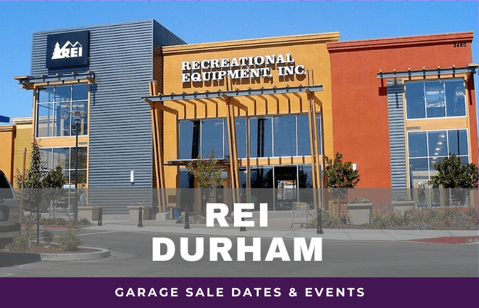 REI Durham Garage Sale Dates, rei garage sale durham north carolina
