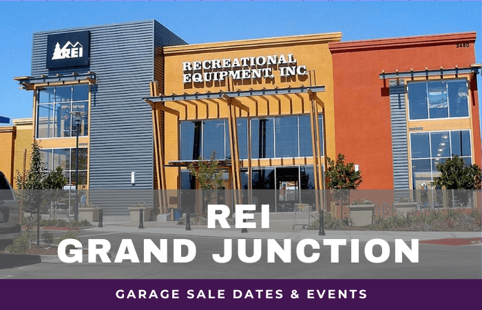 REI Grand Junction Garage Sale Dates, rei garage sale grand junction colorado