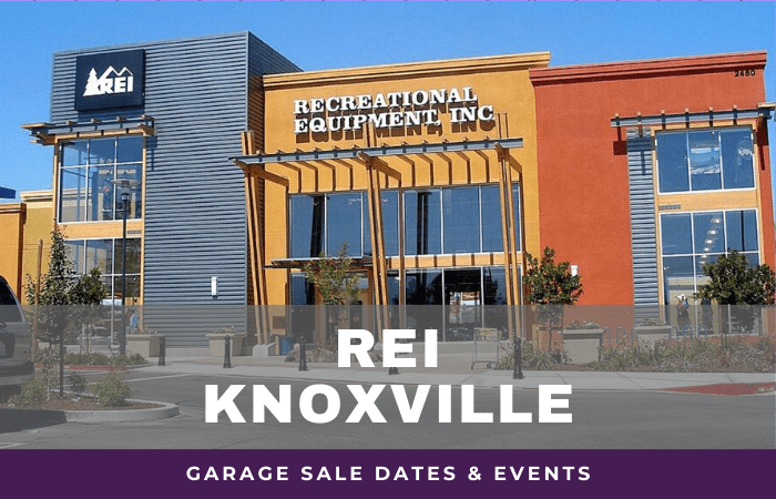 REI Knoxville Garage Sale Dates, rei garage sale Knoxville Tennessee