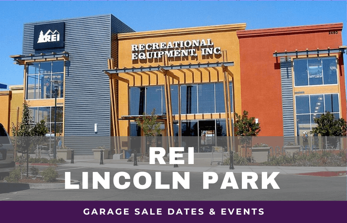 REI Lincoln Park Garage Sale Dates, rei garage sale lincoln park illinois
