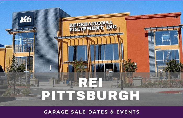 REI Pittsburgh Settlers Ridge Garage Sale Dates, rei garage sale pittsburgh settlers ridge Pennsylvania