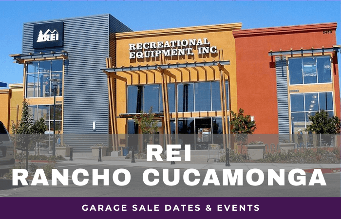 REI Rancho Cucamonga Garage Sale Dates, rei garage sale rancho cucamonga california