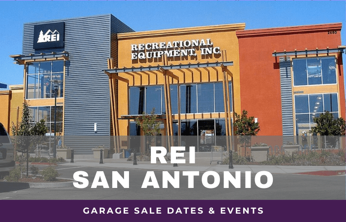 REI San Antonio Garage Sale Dates, rei garage sale san antonio