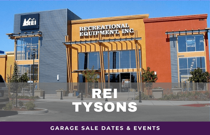 REI Tysons Garage Sale Dates, rei garage sale tysons virginia