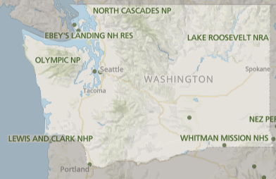 Best National Parks in Washington, Washington National Parks, National Parks Washington, how many national parks in Washington, Washington national parks map, map of Washington National parks, list of national parks in Washington