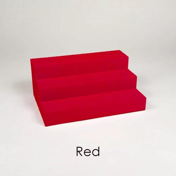 Mini Perfume Display Organizer in Red