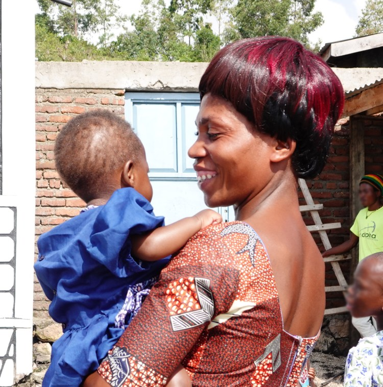 Because of your support, Georime is now providing love and care to children who need it the most. She truly has a heart of a mother. She is pictured here in January 2020.