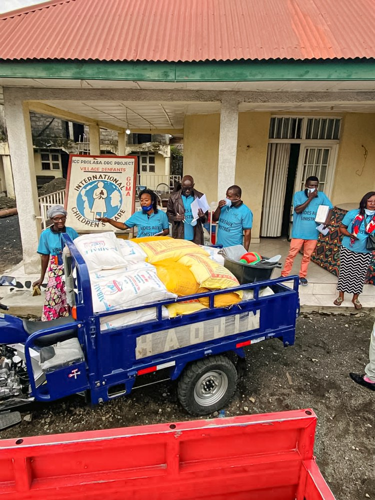 Volcano Relief after Close Calls in Goma