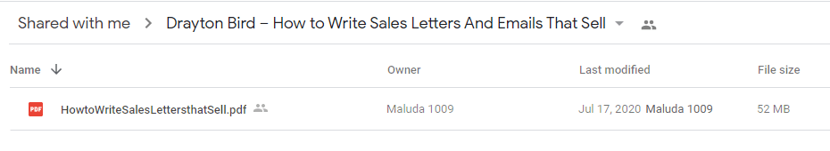 Drayton Bird – How to Write Sales Letters And Emails That Sell