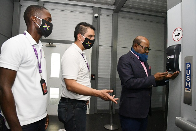 , Jamaica Tourism Minister Bartlett Tours Norman Manley International Airport, For Immediate Release | Official News Wire for the Travel Industry