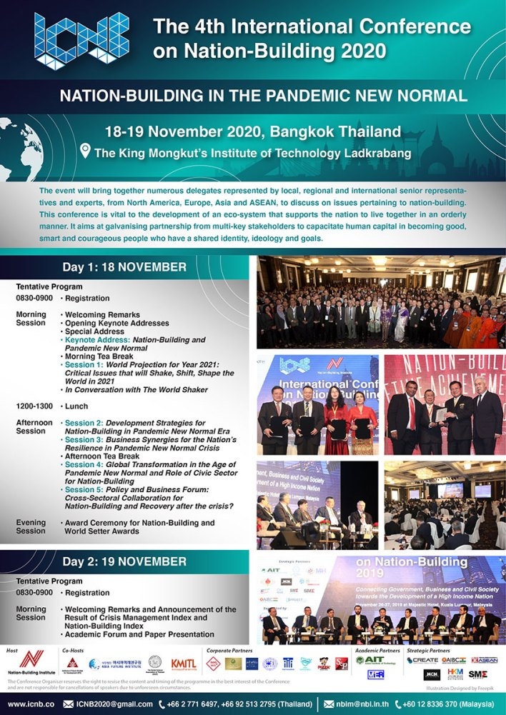 , Bangkok hosts 'International Conference on Nation-Building 2020' with focus on the 'new normal', For Immediate Release | Official News Wire for the Travel Industry