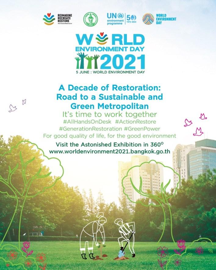Bangkok organises World Environment Day 2021 virtual event on 5 June