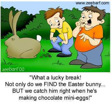 Confessions of a Broke Easter Bunny (5/6)
