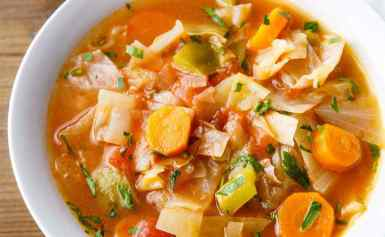 Cabbage Diet Soup( weight loss)