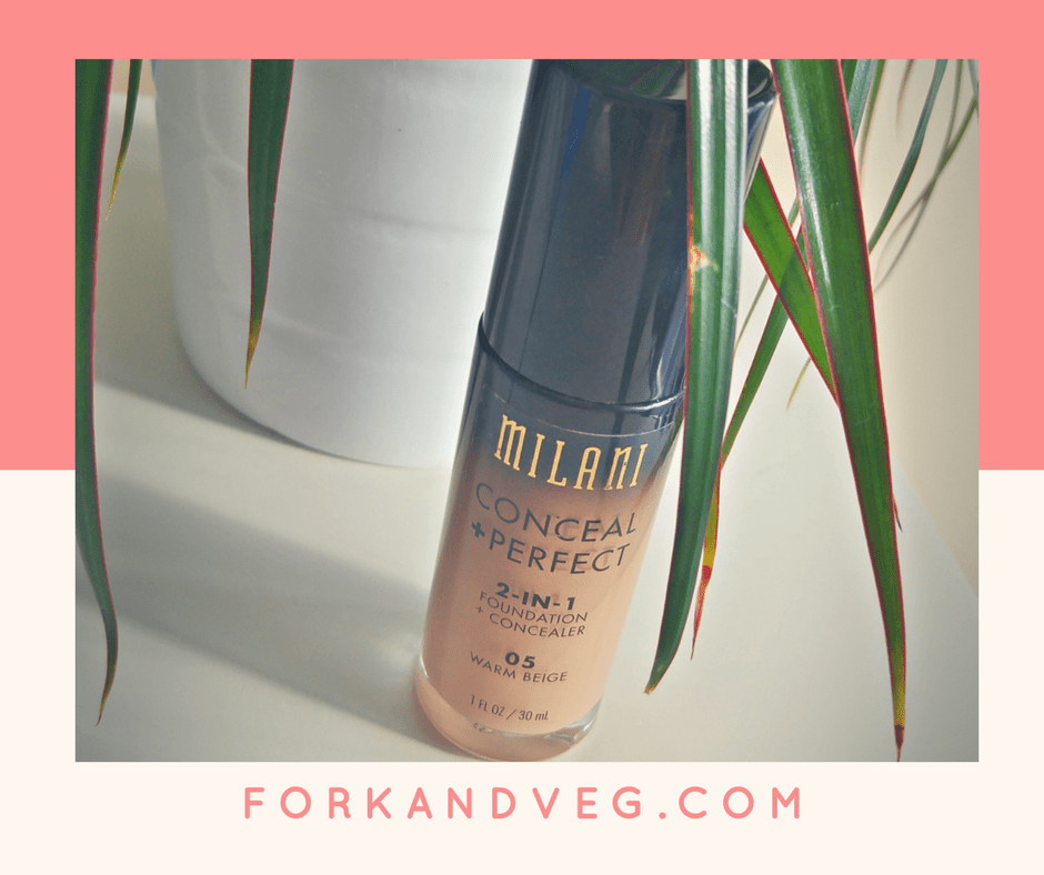Product Review – Milani Foundation & Concealer