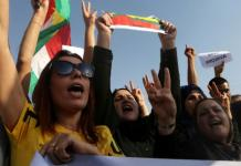 «Μπλόκο» στη πορεία των Κούρδων προς την τουρκική πρεσβεία