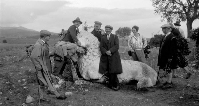 Το λιοντάρι της Κάντζας (ο λέων του Υμηττού) είναι 2.500 χρόνων (ΕΛΙΑ)