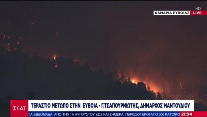 «Κραυγή-αγωνίας»-από-Δήμαρχο-Μαντουδίου:-Αν-δεν-γίνουν-σωστές-κινήσεις-θα-καεί-όλη-η-Εύβοια