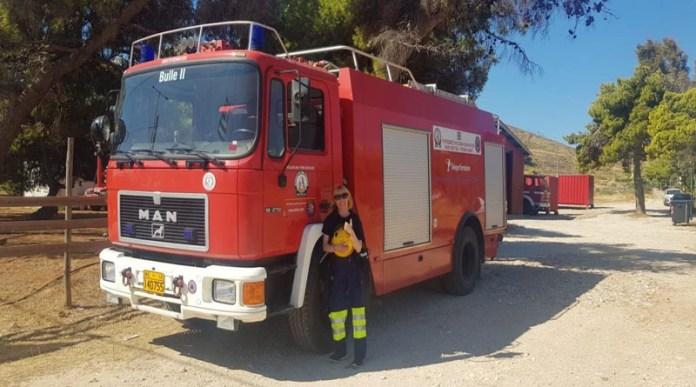 Το-Πυροσβεστικό-Σώμα-Εθελοντών-Ν.-Βουτζά-στην-Πυρκαγιά-στην-Κερατέα