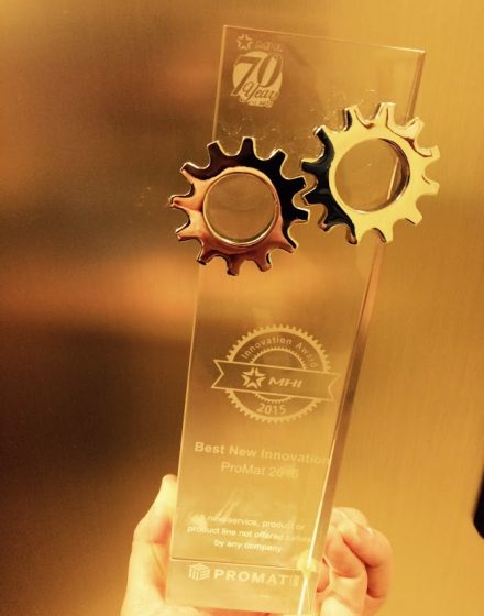 MHI's Best new innovation award 2015 is ours!