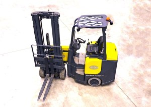 monitoring forklifts increases efficiency